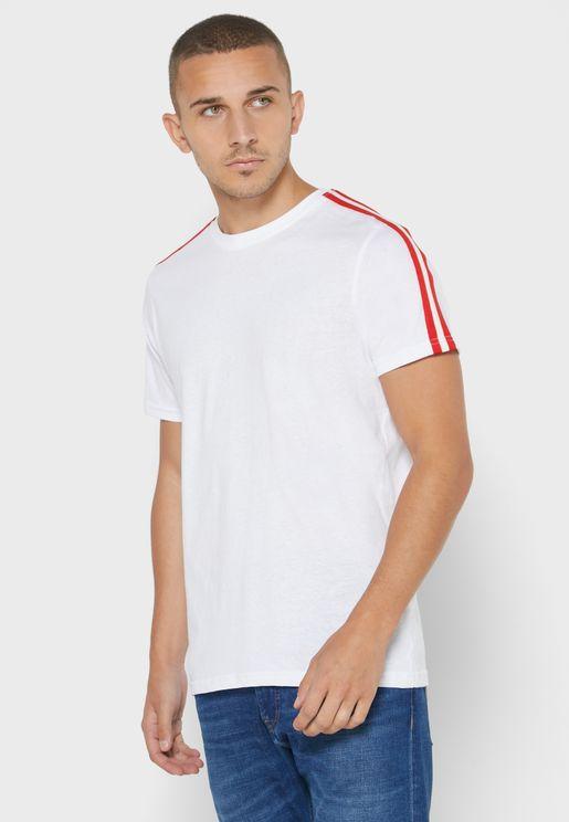 Shoulder Tape T Shirt