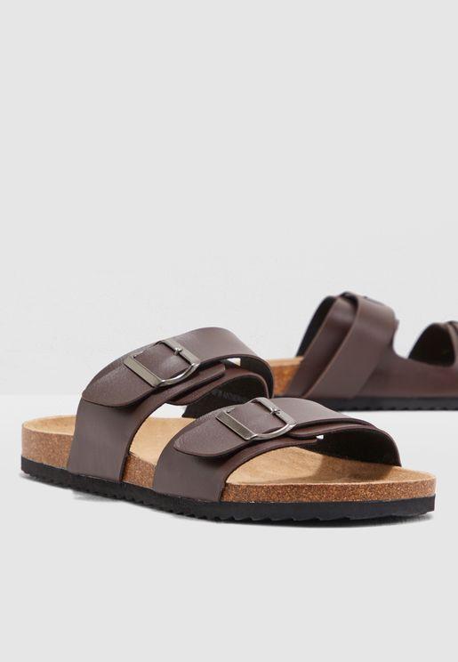 Dual Strap Sandals