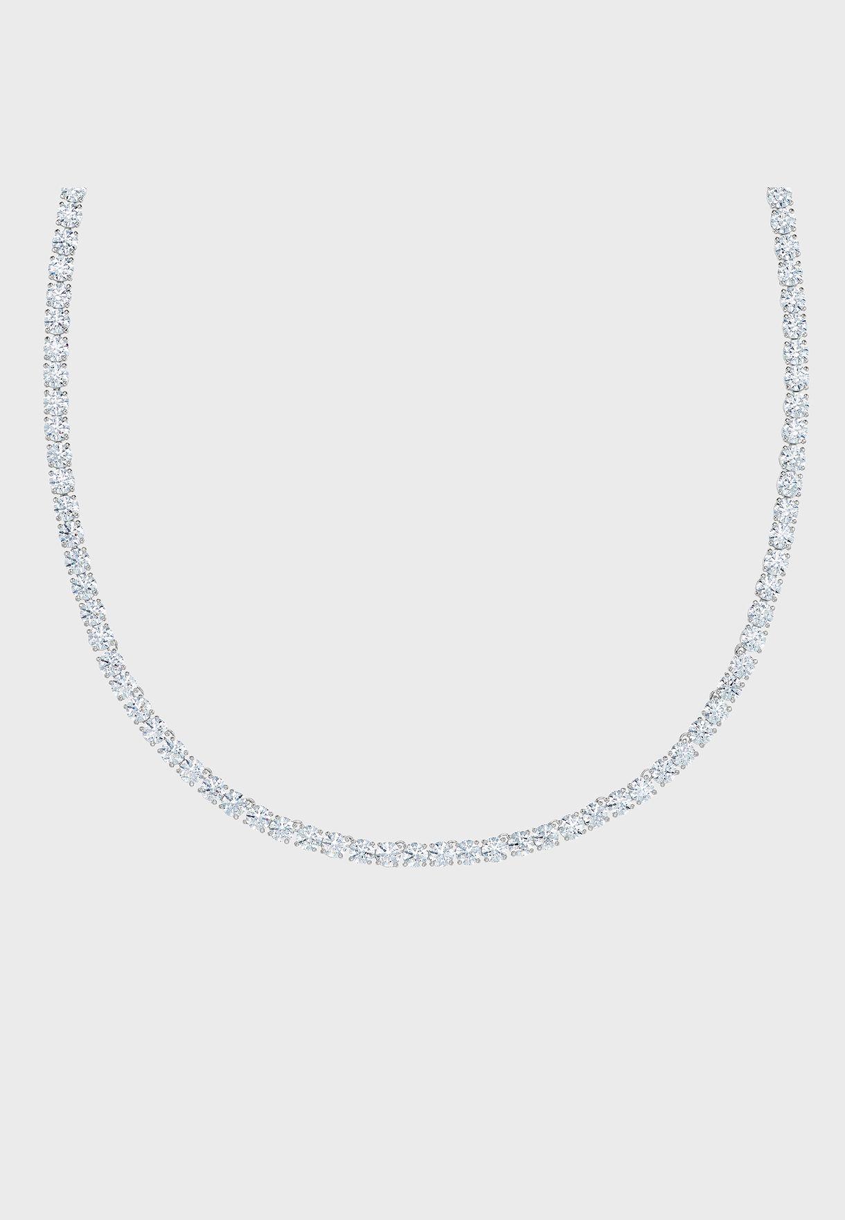 Tennis Deluxe Necklace+Earrings Set
