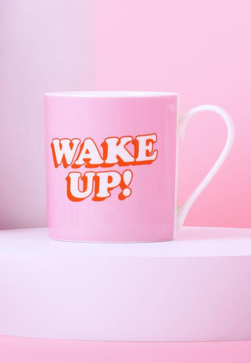 Wake Up Ceramic Mug
