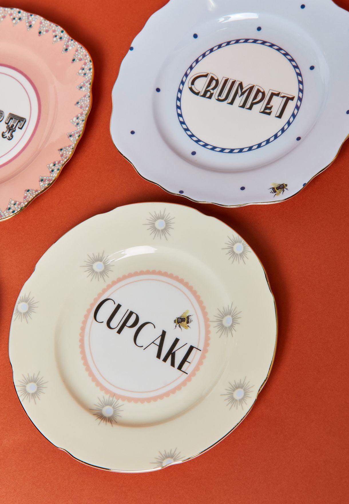 4 Pcs Cake Plates Set