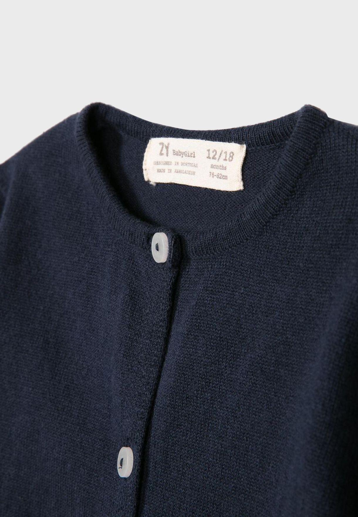 Kids Button Down Sweater