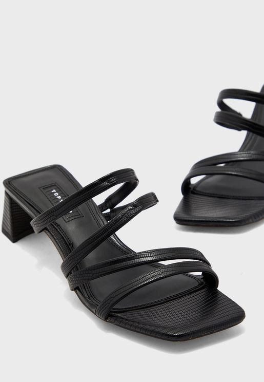 Dixie Strap Mule Sandal