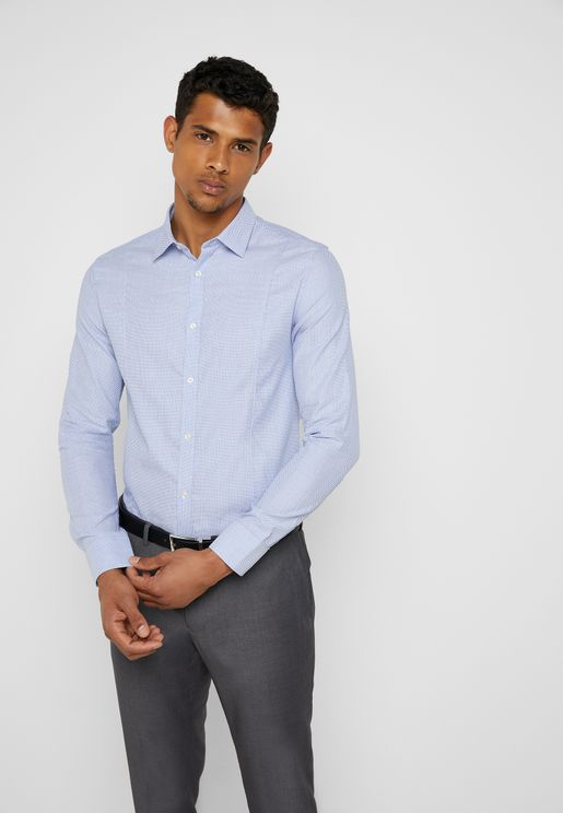 Patterned Smart Shirt