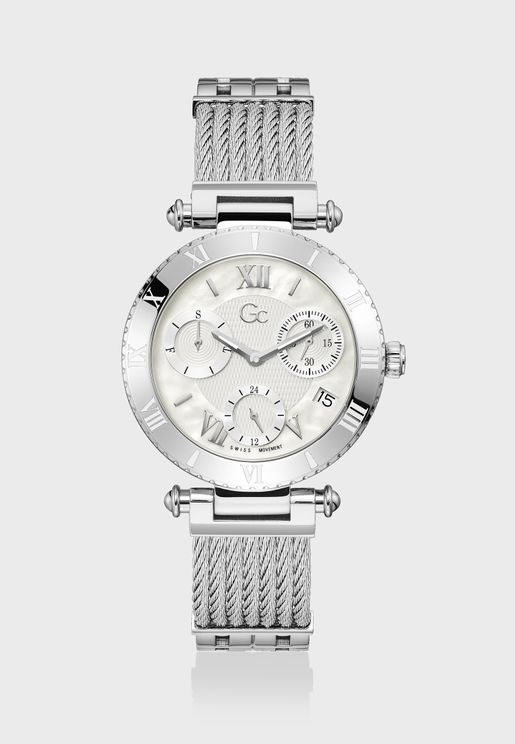 Infinity Large Size Metal Strap Watch