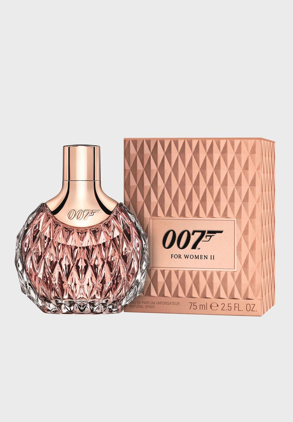 عطر 007 الثاني للنساء 75 مل (او دو بارفان)