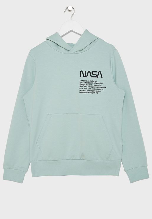 Kids Slogan Sweatshirt