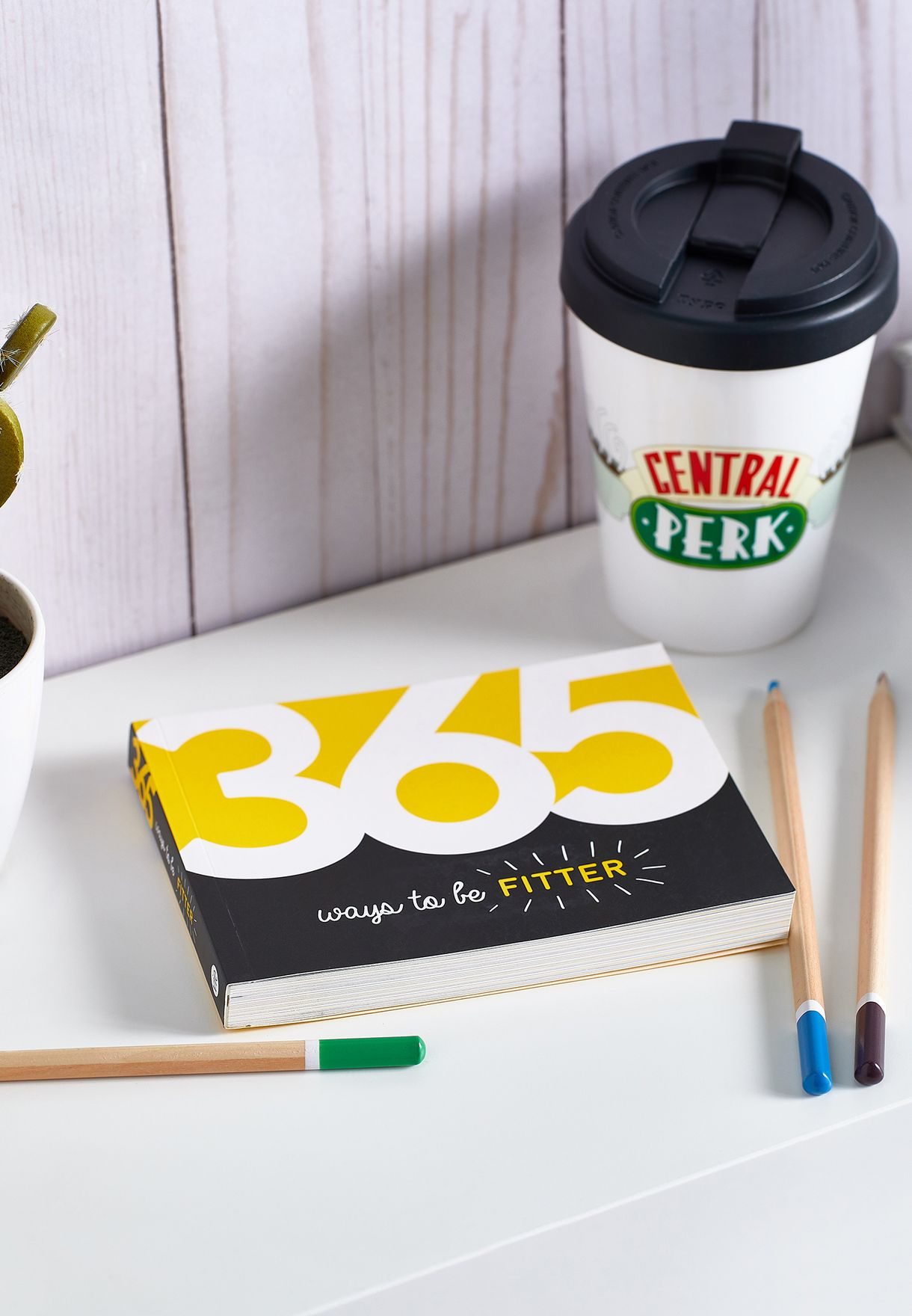 كتاب 365 Ways To Be Fitter