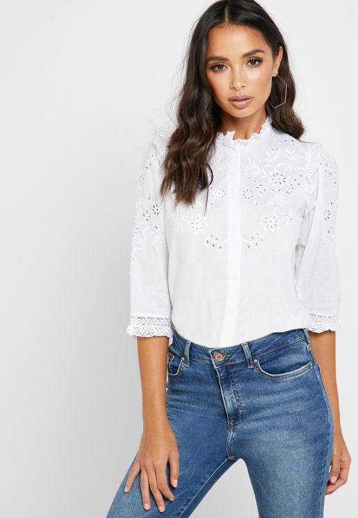 Cutwork Shirt