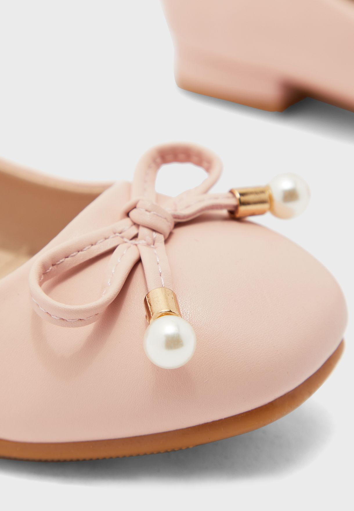 Kids Bow Detail Ballerina