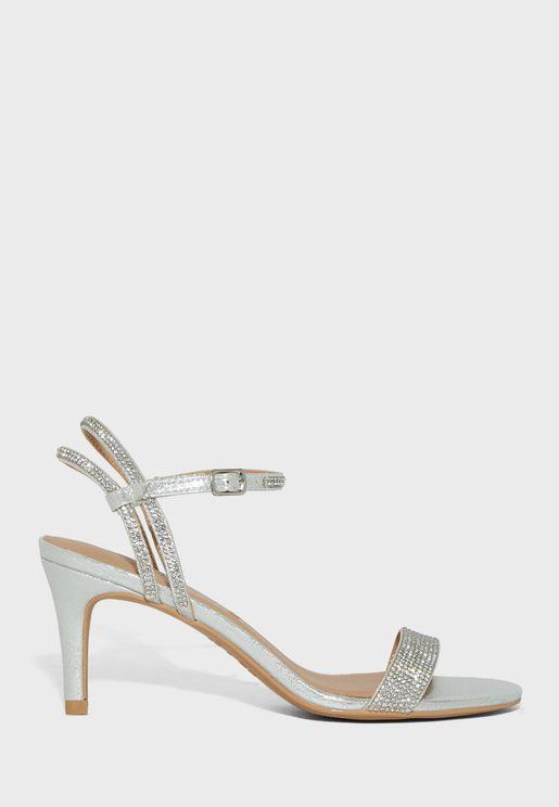 Casual Low-Heel Sandals