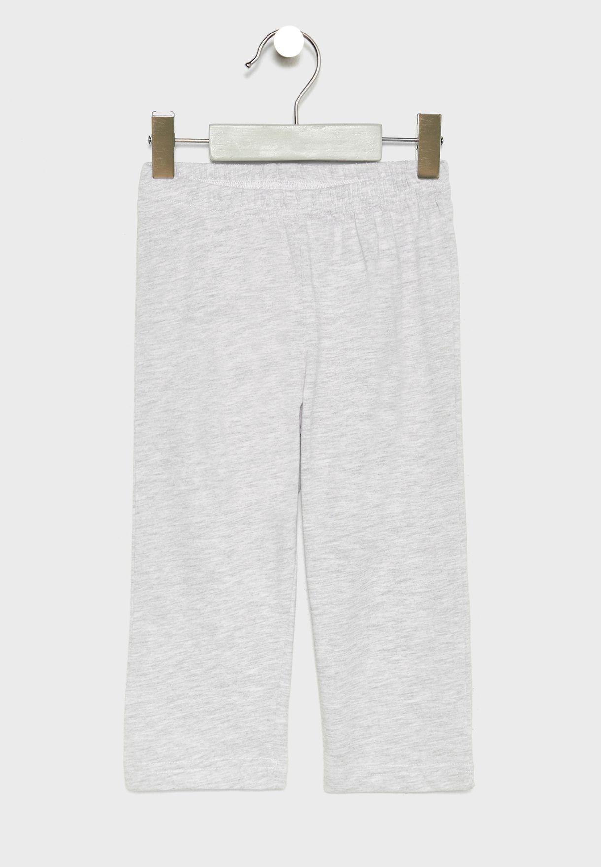 Kids Safari T-Shirt + Pyjama Set