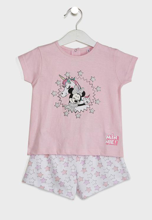 Infant Minnie Mouse Pyjama Set