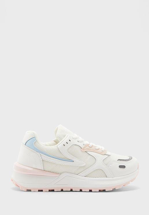 Colour Detail Sneakers