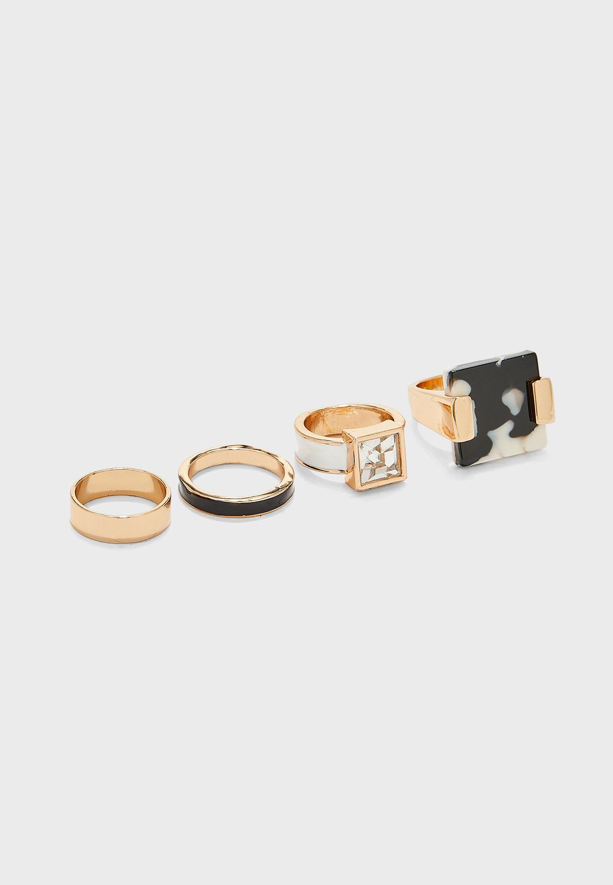 Kamgras Ring Set