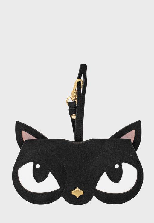 حافظة نظارة شمسية شكل قطة