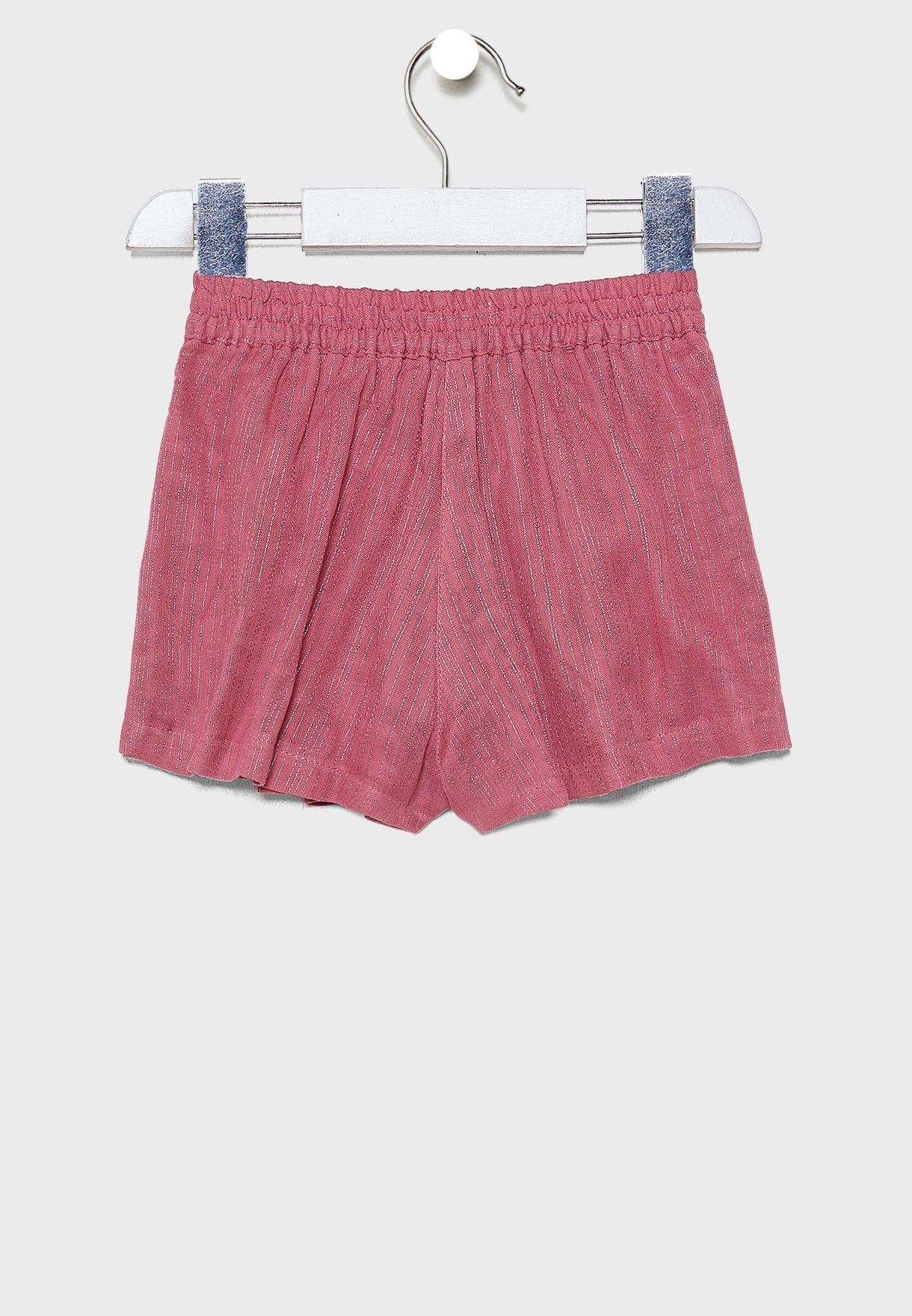 Kids Berry Sparkle Shorts