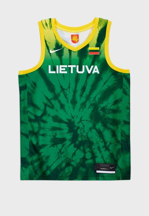 تيشيرت بشعار ليتوانيا بلينك للاولمبياد
