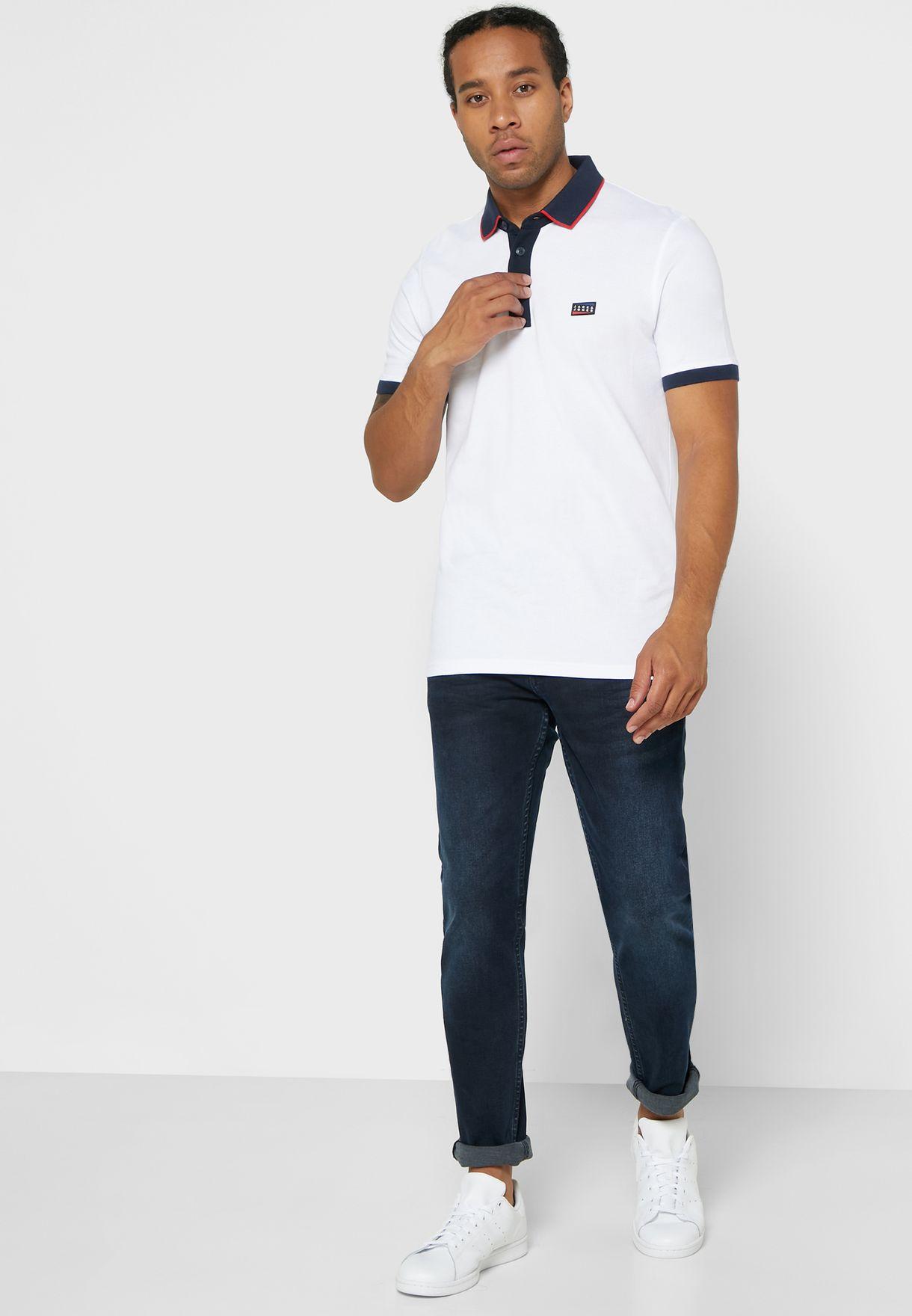 Charming Slim Fit Polo