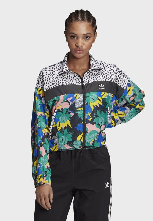 Graphics Casual Women's Windbreaker