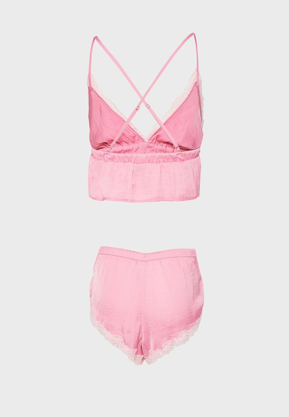 Bralette & Shorts Set