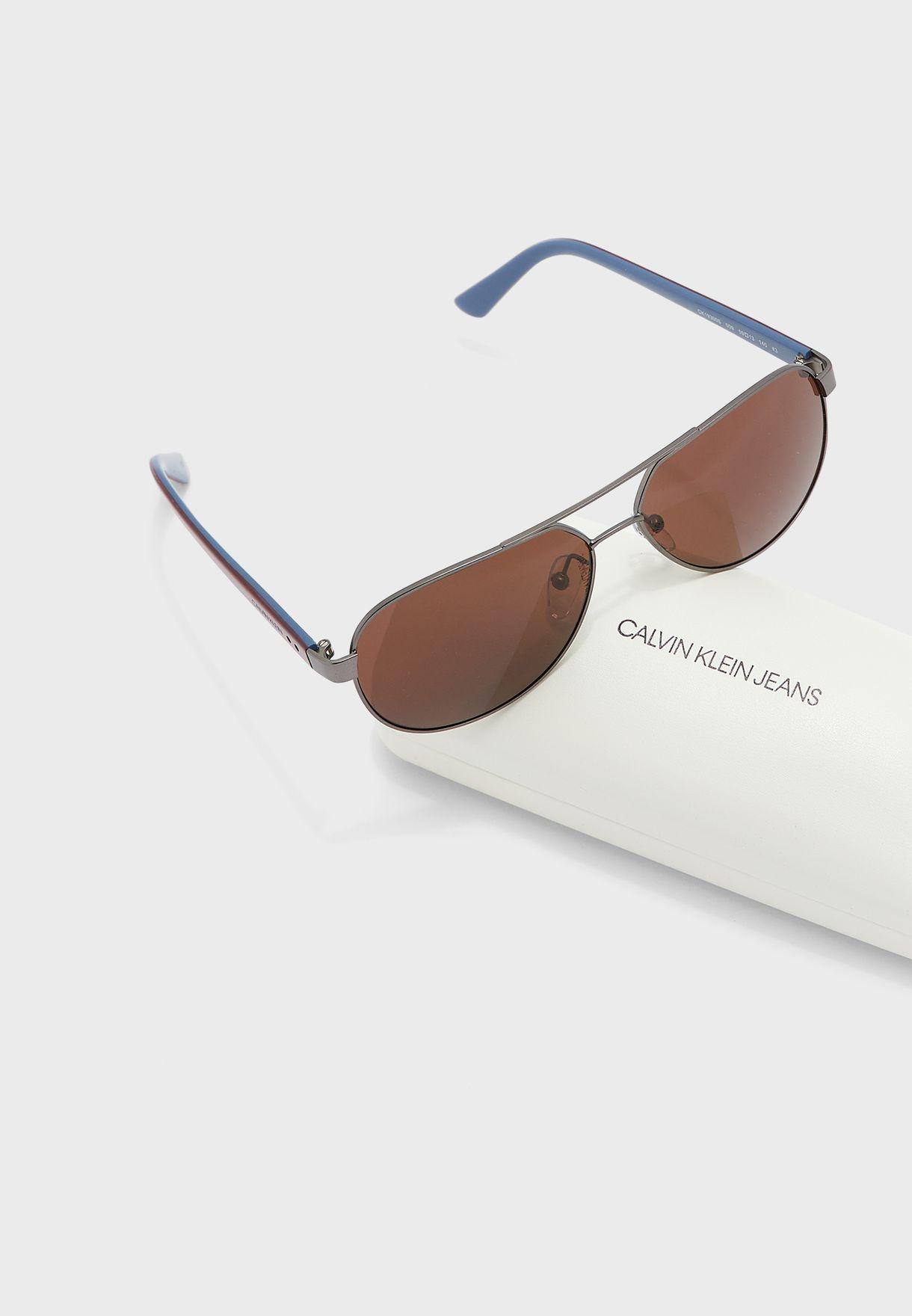 Ck19300S Aviator Sunglasses