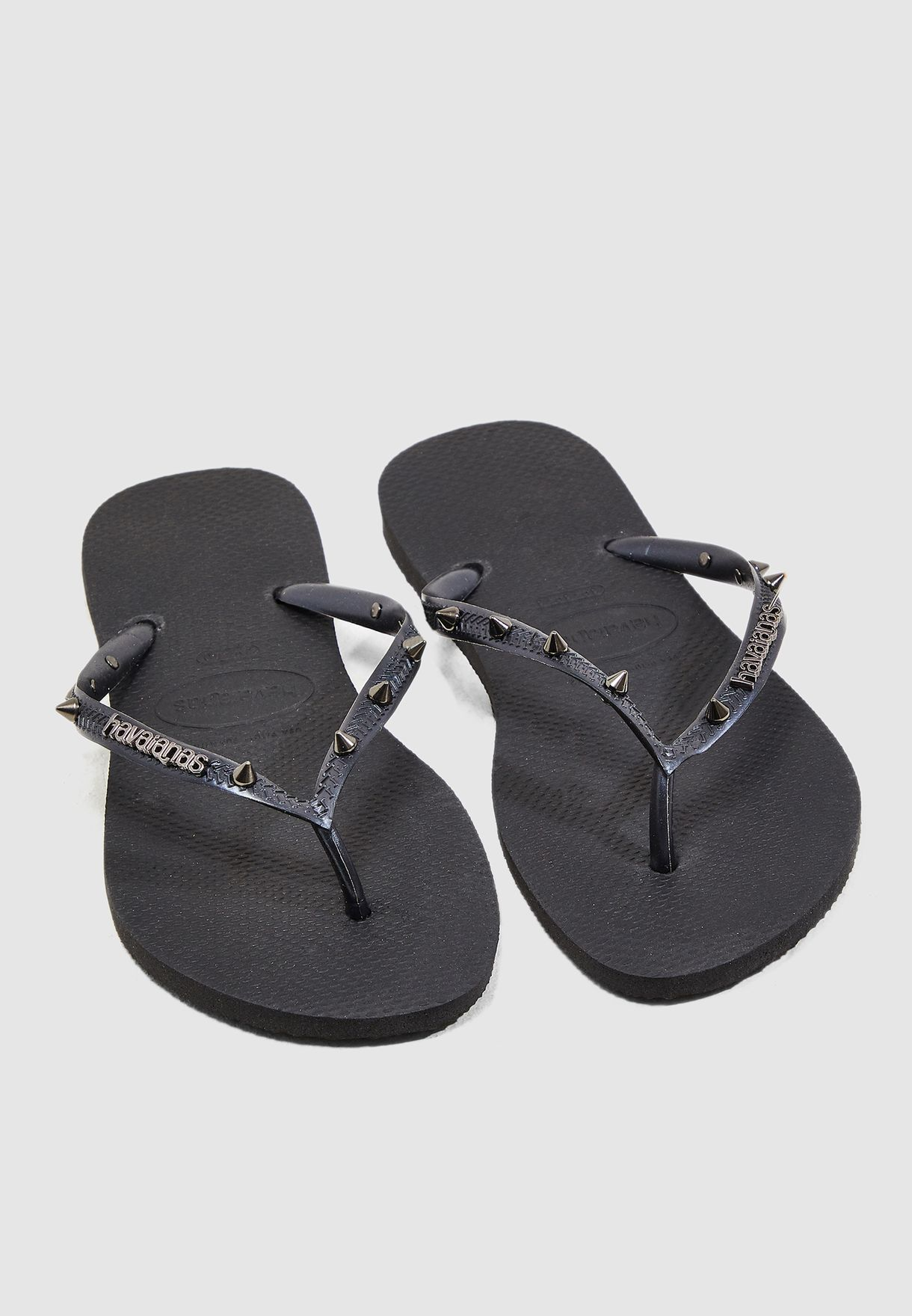 123b2c70e Shop Havaianas black Slim Thong 4123445 for Women in Oman - 21000SH14QLP