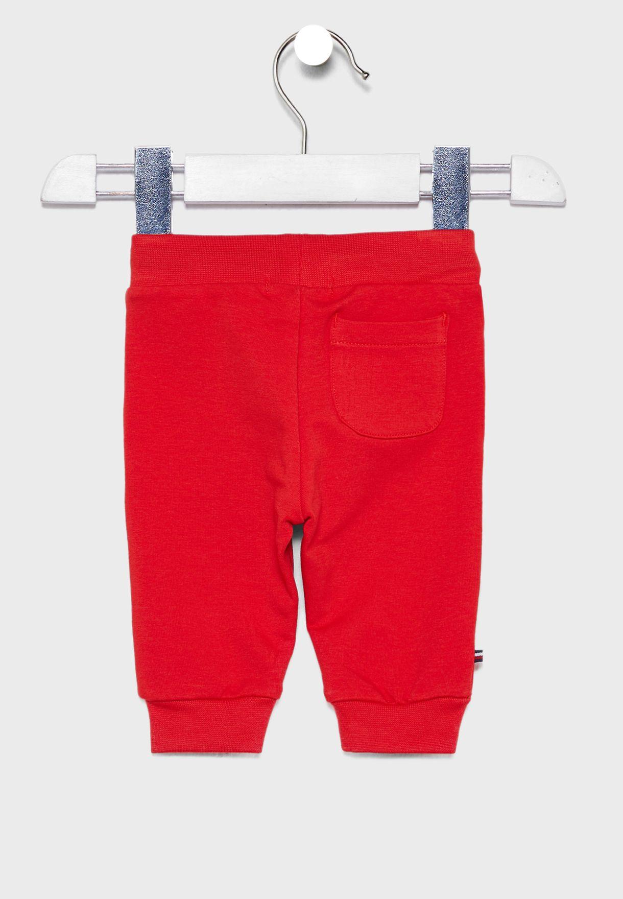 Infant Logo Cuffed Sweatpants