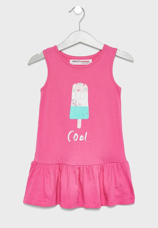 Infant Ice Lolly Graphic Dress