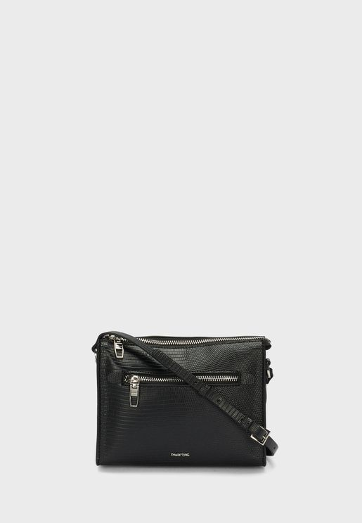Crossbody Bag With Mid Zip