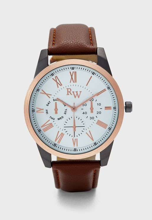 Classic Chronograph Alanogue Watch