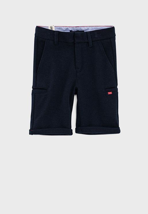 Kids Side Pocket Shorts