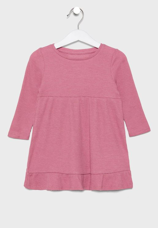 Kids Seam Detail Dress