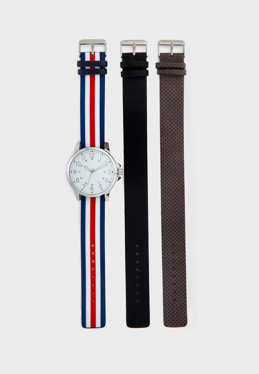 Fusilier Watch +Strap Set