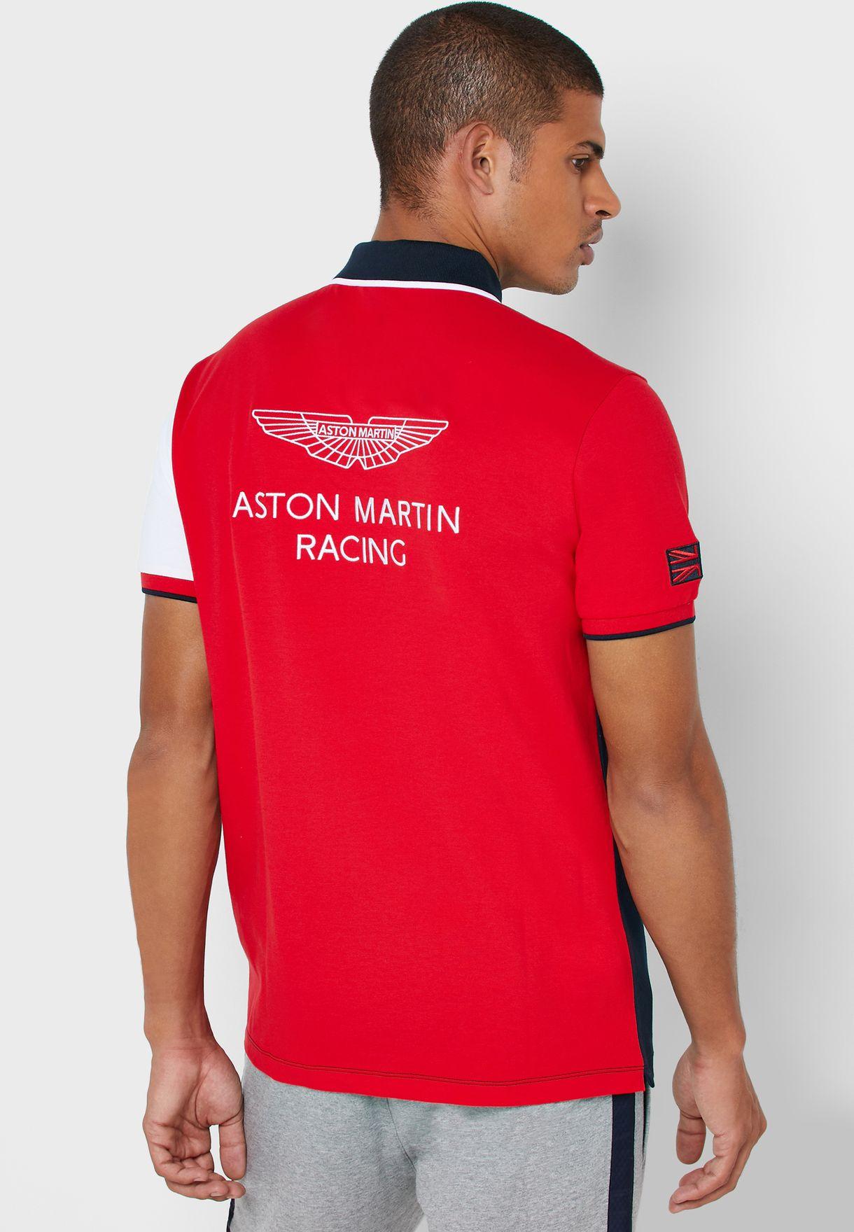 تيشيرت بشعار سباق أستون مارتن