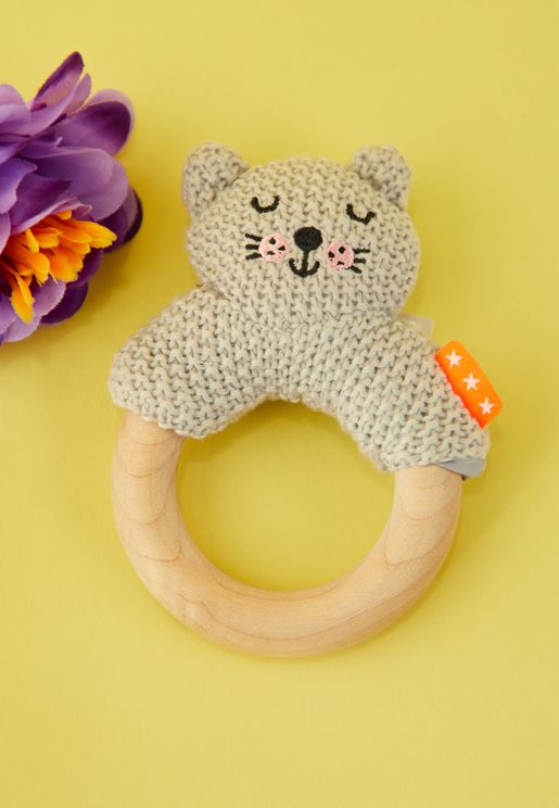 Kids Cat Rattle Toy