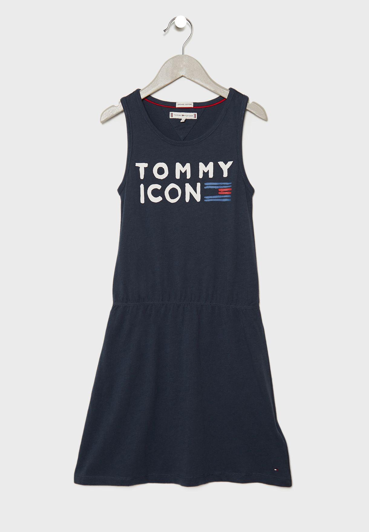 Teen Slogan Dress