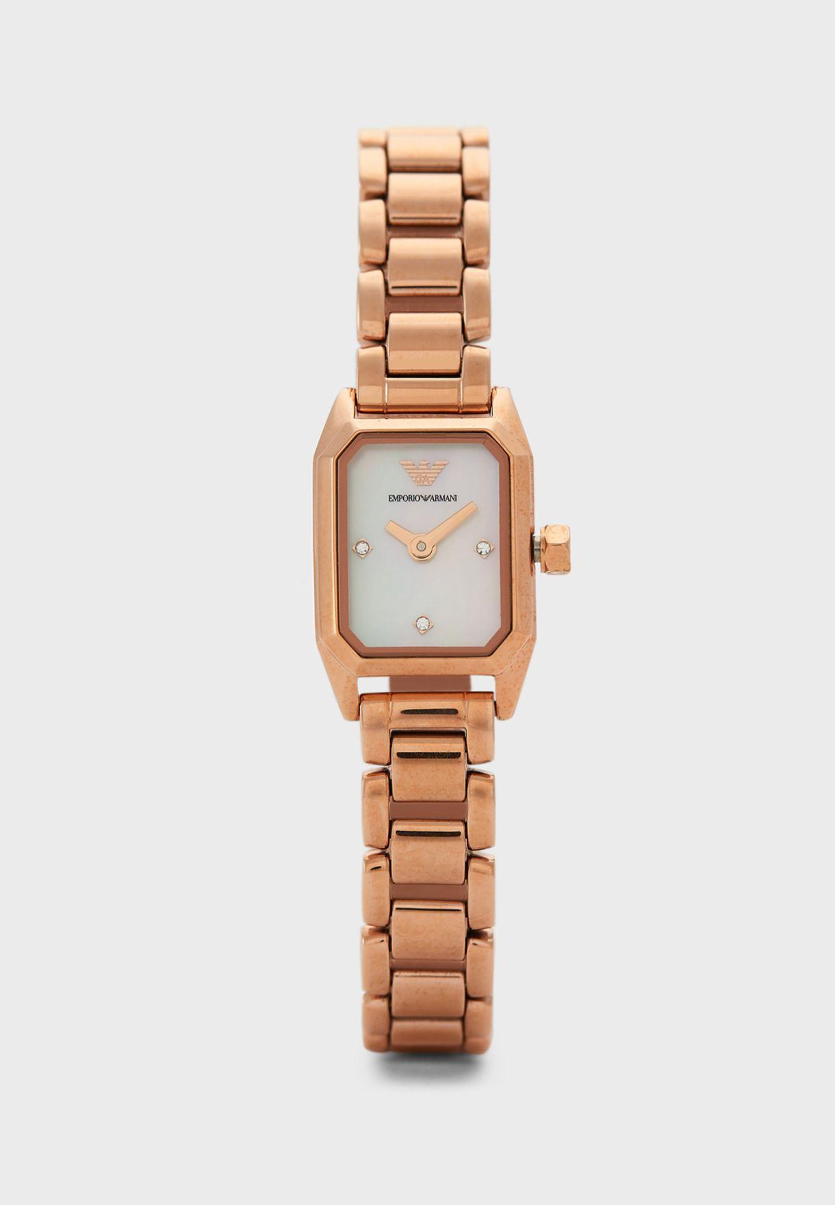 AR11323 Analog Watch + Bracelet Gift Set