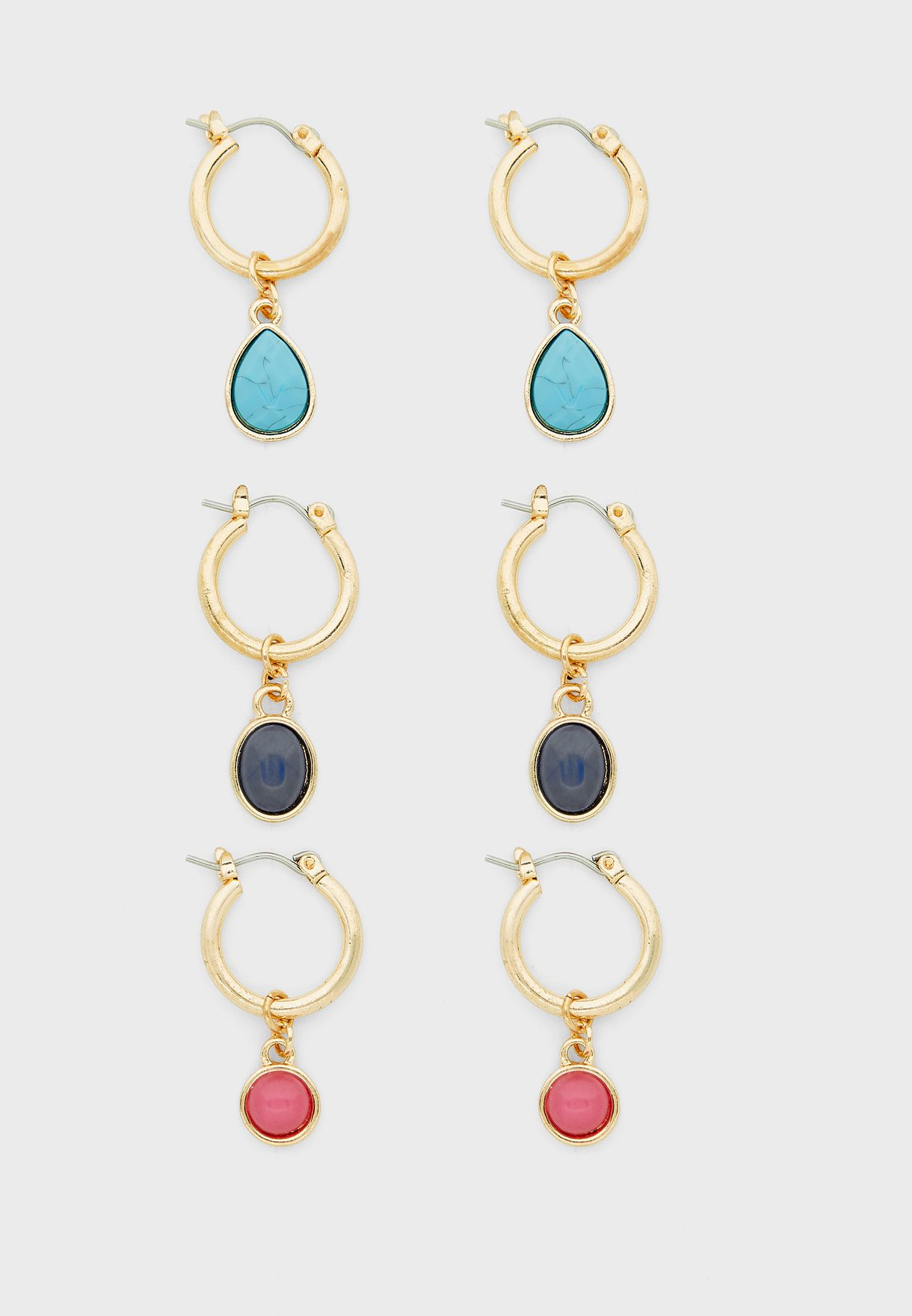 Multipack Luxe Layers Hoop Earrings