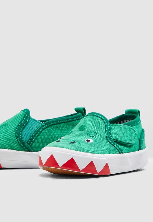 Kids Dinosaur Slip On