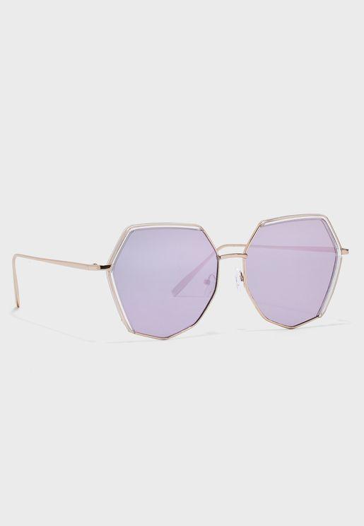نظارة شمسية سداسية