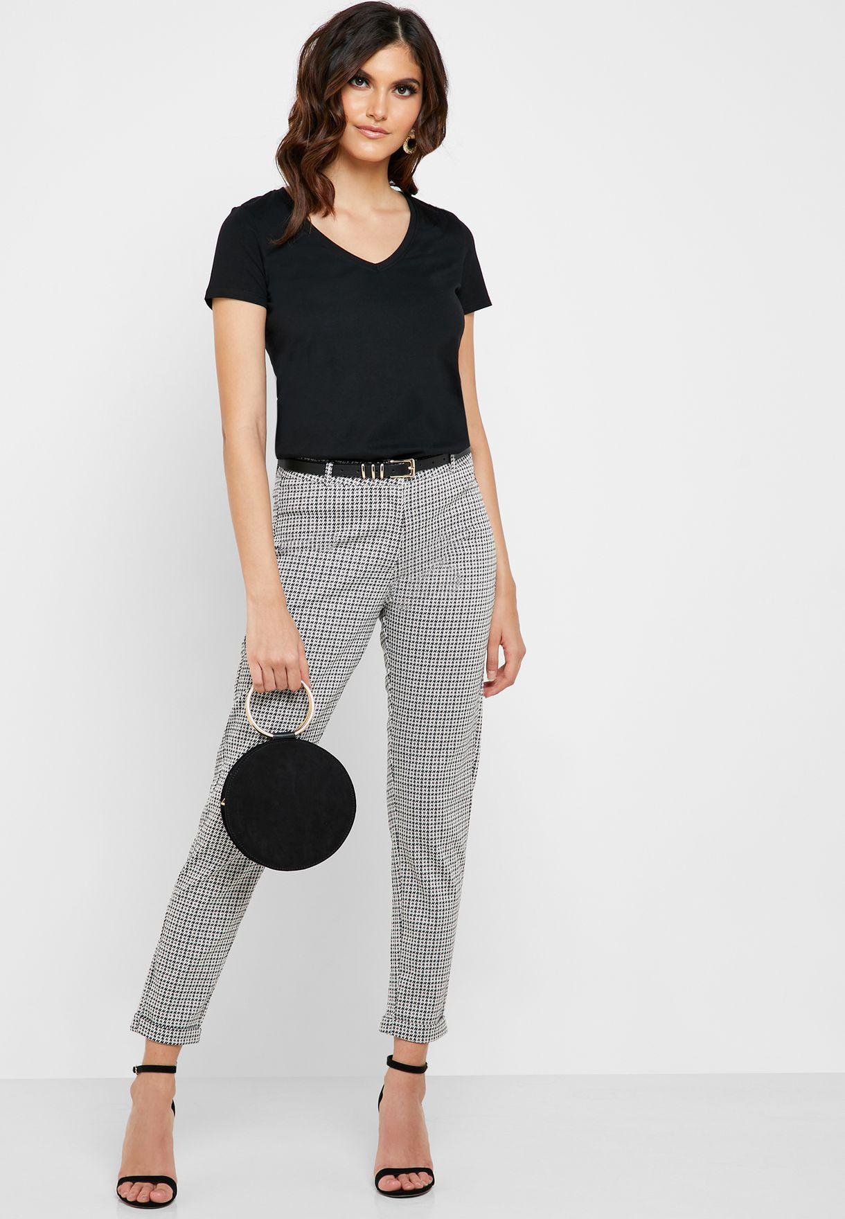 V-Neck Short Sleeve T-Shirt