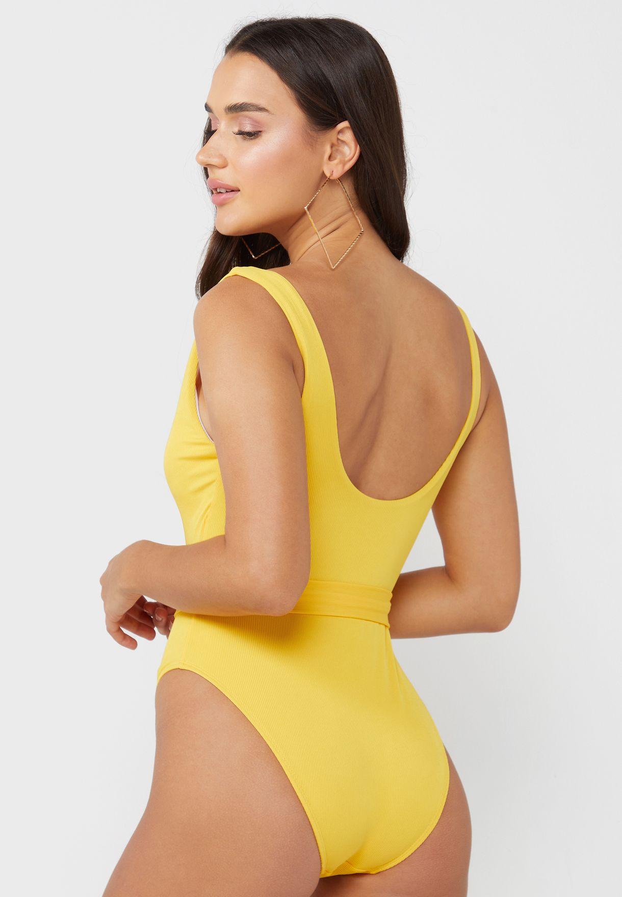 Belted Swimwear