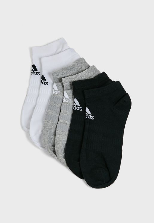 6 Pack Low-Cut Socks