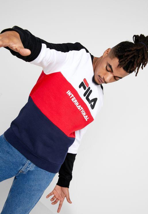 Bravo Cut & Sew Oversize Sweatshirt