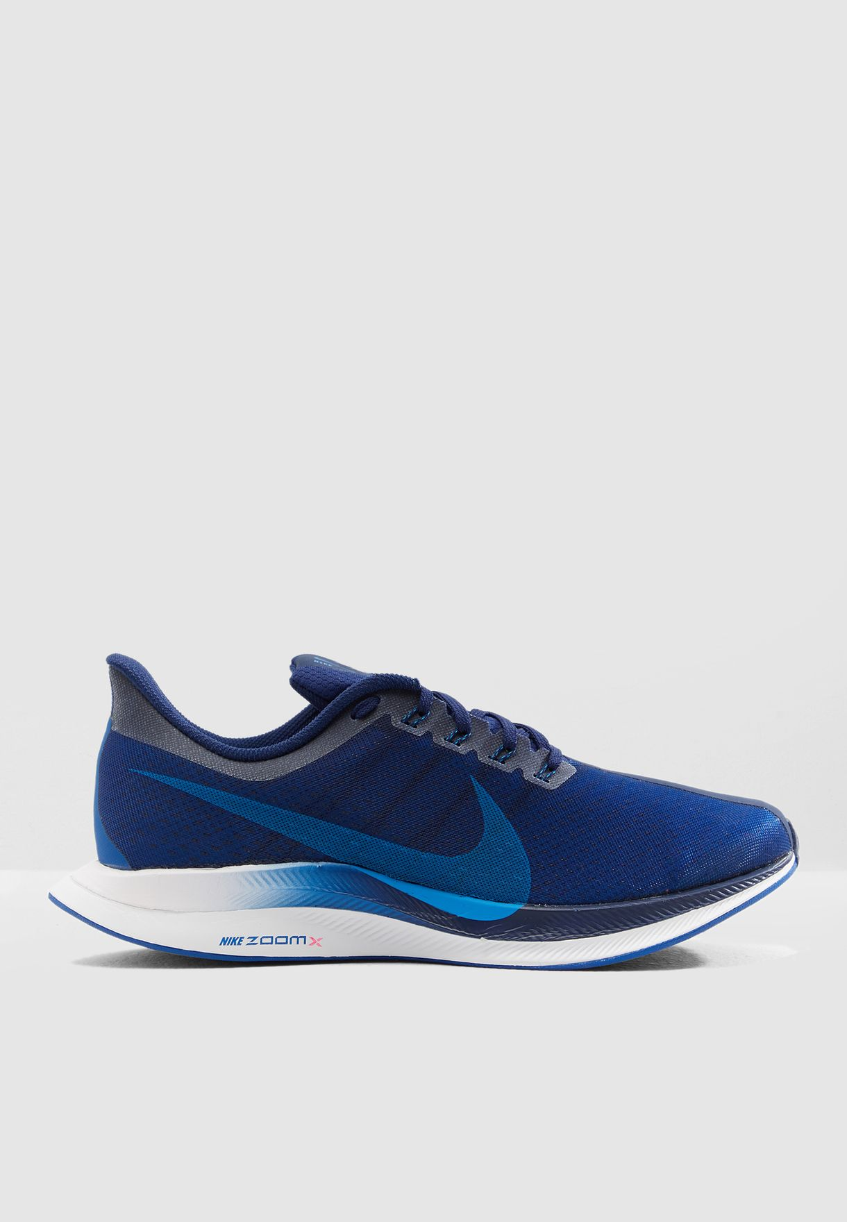 c400c7dfda336 Shop Nike blue Zoom Pegasus 35 Turbo AJ4114-400 for Men in UAE ...
