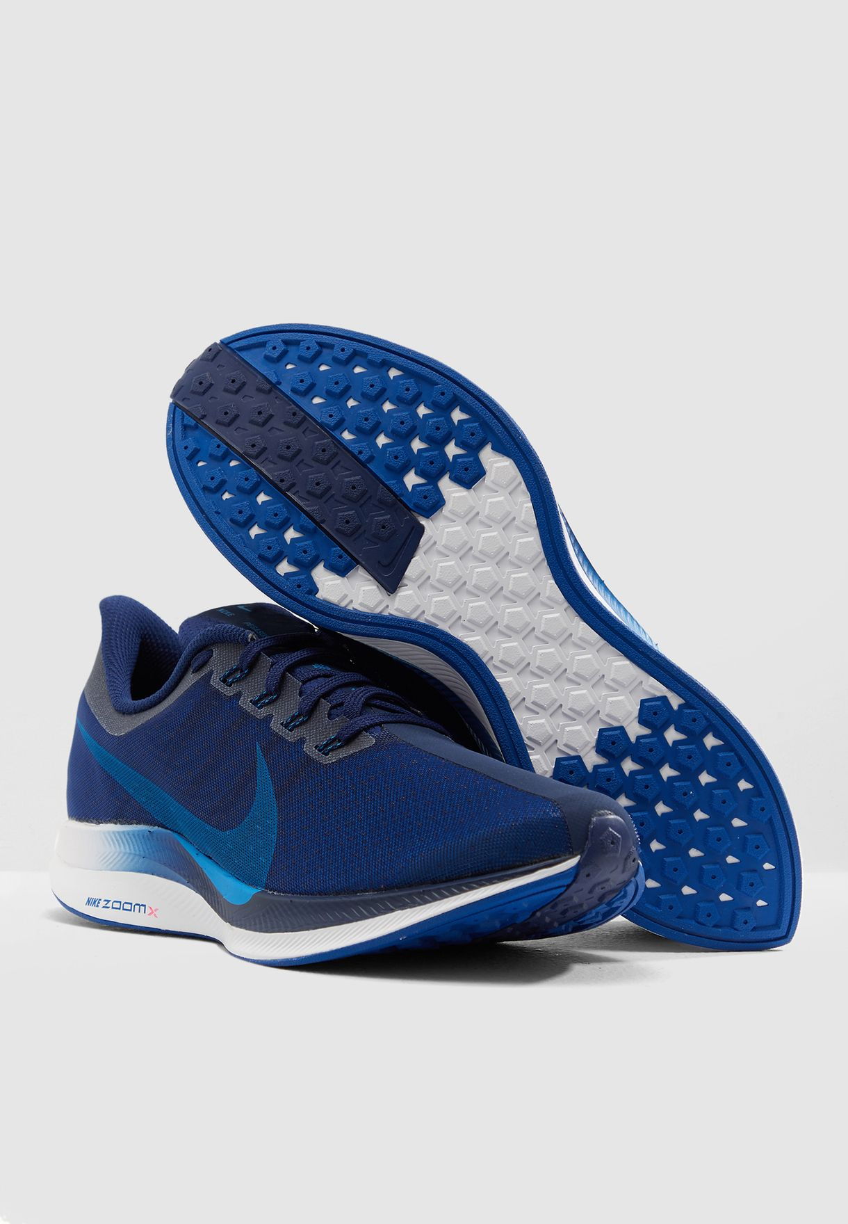 aed815f1c66312 Shop Nike blue Zoom Pegasus 35 Turbo AJ4114-400 for Men in UAE ...