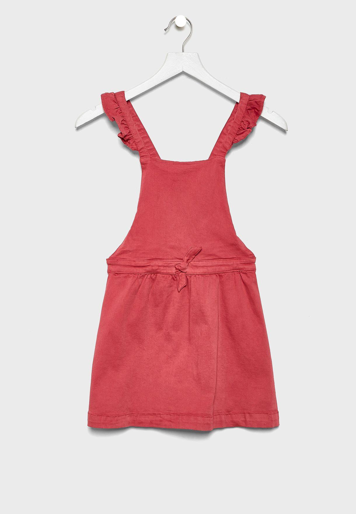 فستان دنغري للاطفال