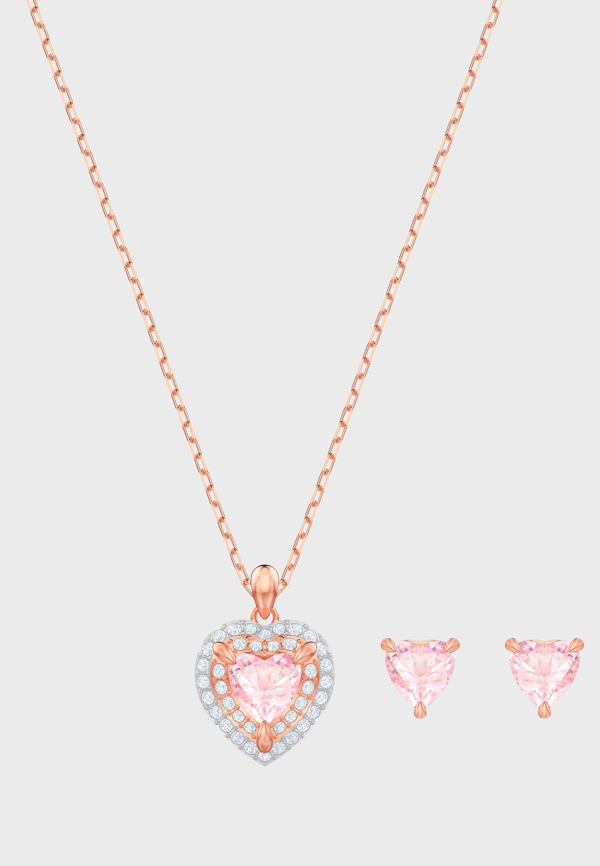One Necklace + Earrings Set