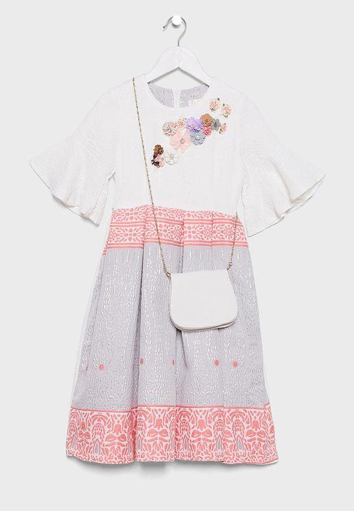 Teen Embellished Dress